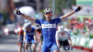 Cyclisme – Tour d'Espagne: nouvelle victoire du Belge Philippe Gilbert, Roglic reste en rouge