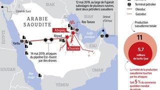 L'Iran accusé d'avoir frappé l'Arabie saoudite