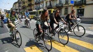 Manifestation pour le climat: les cyclistes neuchâtelois appelés à rouler sur Berne