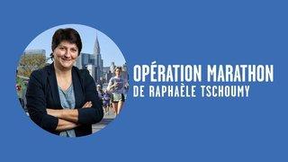 """Opération marathon de New York: """"Avec le sourire…"""""""