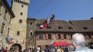 L'armée fait sa pub aux portes ouvertes du château de Colombier