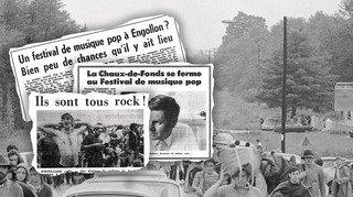 Canton de Neuchâtel: juste après Woodstock, la musique pop n'est pas la bienvenue