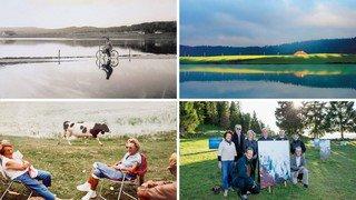 Le lac des Taillères, héros intemporel, célébré en images