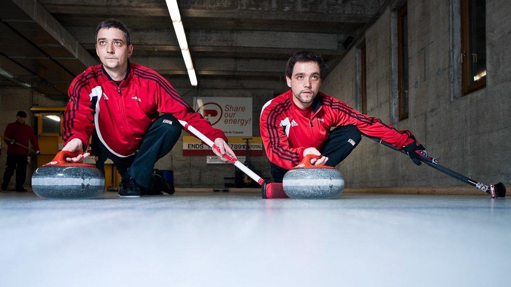 Les Neuchâtelois Patrick et Gilles Vuille, vice-champions du monde junior en 2000, seront de la fête ce week-end à Neuchâtel.