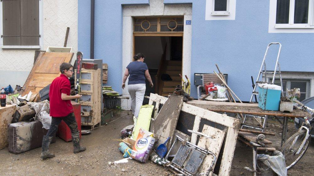 A ce jour, le fonds communal en faveur des sinistrés et de la commune s'élève à 134'000 francs.