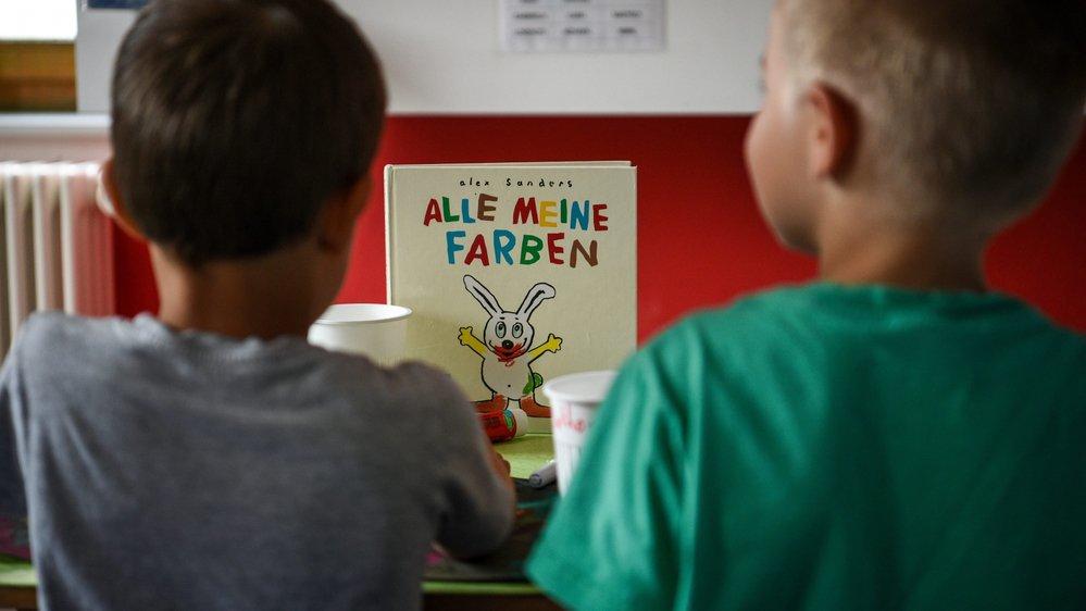 En août dernier, une centaine de Vallonniers ont intégré des classes bilingues, où la moitié des leçons est dispensée en allemand.