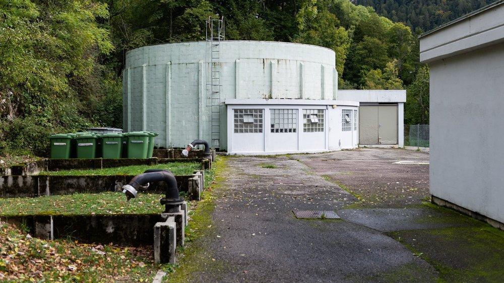La station d'épuration des Brenets date de 1967 et arrive en bout de course.