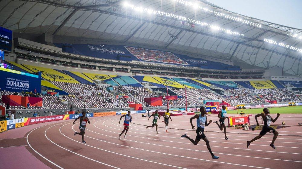 Jusqu'à présent, le Khalifa International Stadium reste désespérément vide...