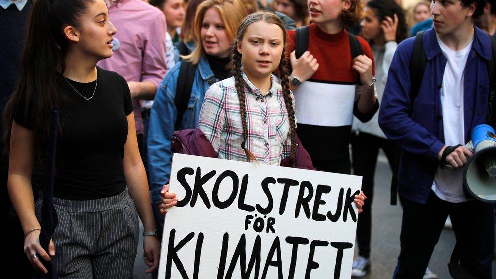 Le recul du nombre de passagers est aussi attribué à la «honte de voler» lancée par Greta Thunberg.