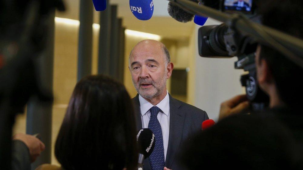 Le commissaire européen aux Affaires économiques, Pierre Moscovici, s'est félicité de la sortie de la Suisse de la liste grise.