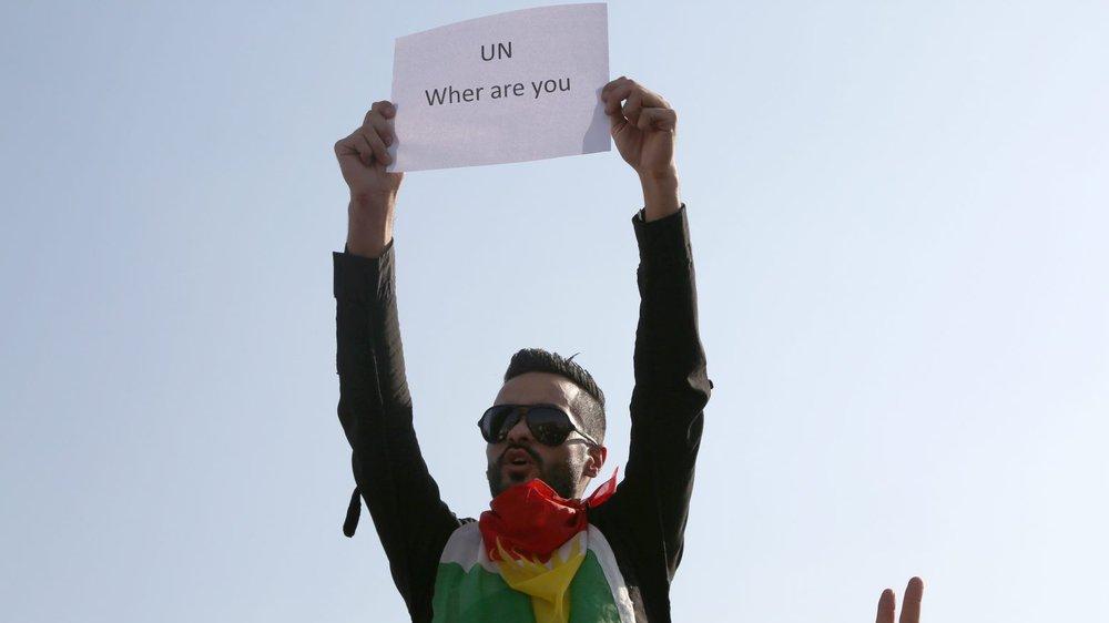Les Kurdes se demandent où est l'ONU...