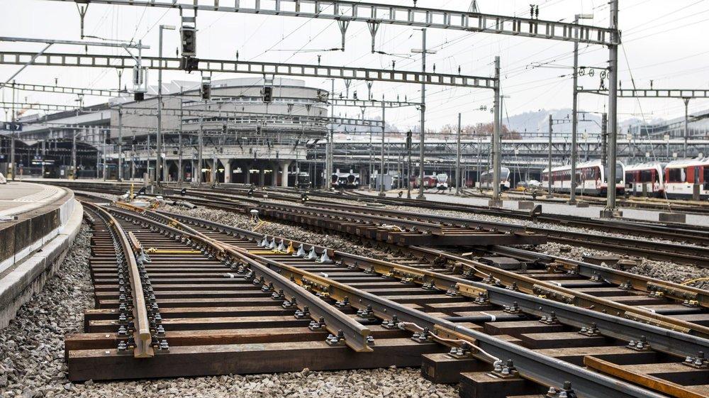 Les hautes températures ont des conséquences néfastes  sur les infrastructures, comme les rails.