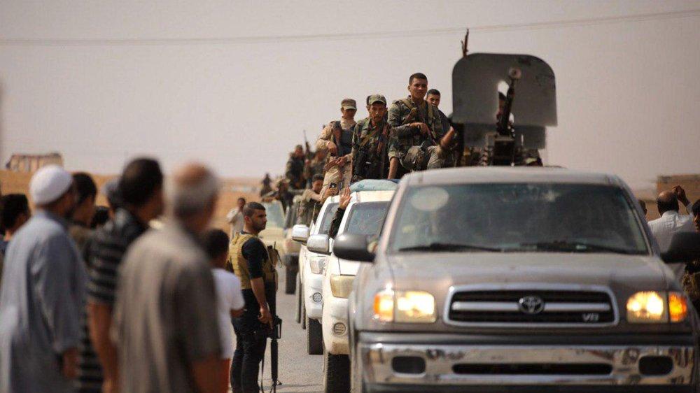 Les forces armées montent dans le nord du pays, pour prêter main forte aux Kurdes face aux Turcs.
