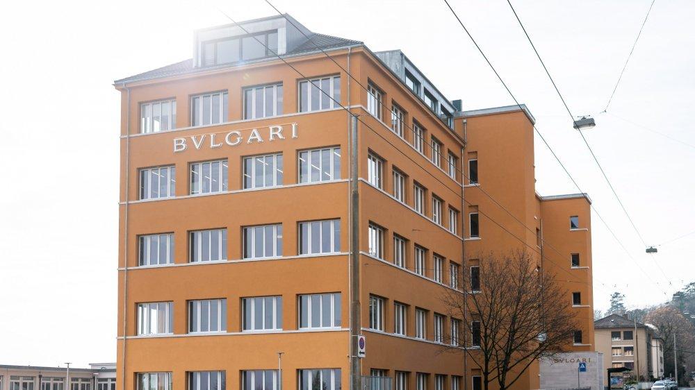 Bulgari est présent avec 300 collaborateurs, sur trois sites de production–ici à Neuchâtel.