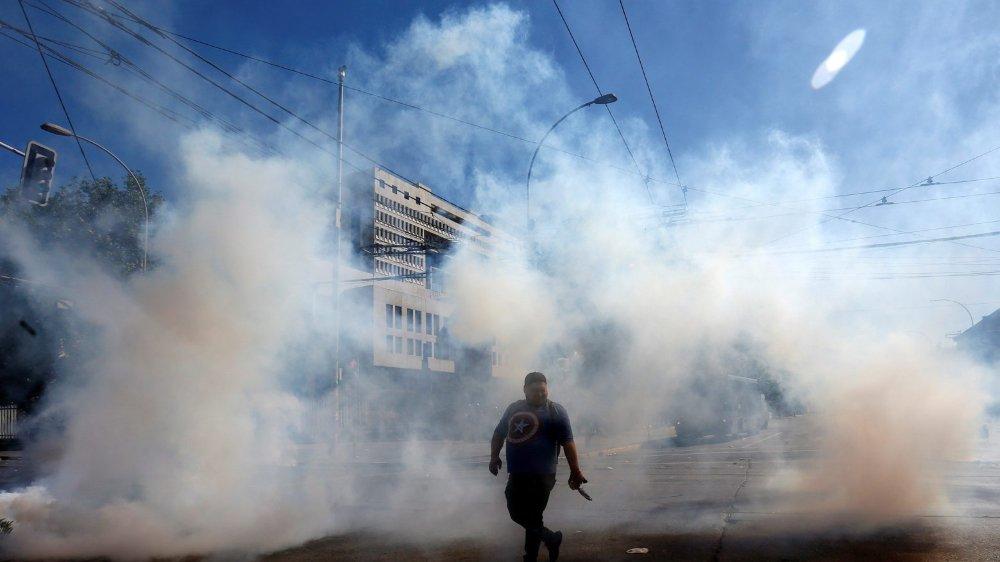 Au Chili, le pouvoir  désemparé face aux émeutes