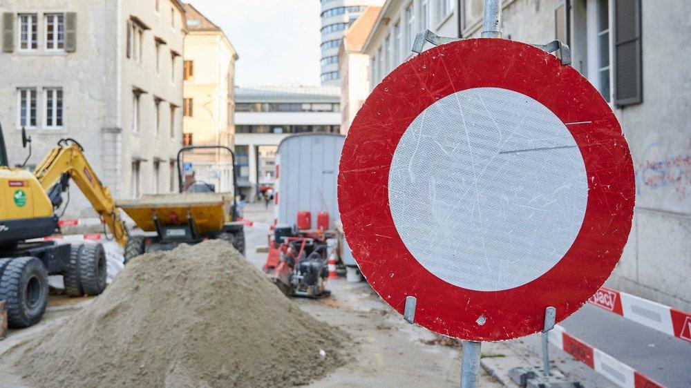 A la Chaux-de-Fonds, les chantiers de l'été vont laisser la place aux embarras de l'hiver.