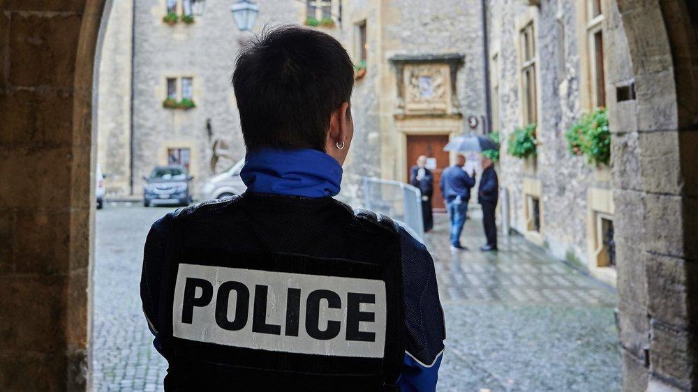 Le procès en appel de l'affaire Chrome, au Château de Neuchâtel. Photo: David Marchon