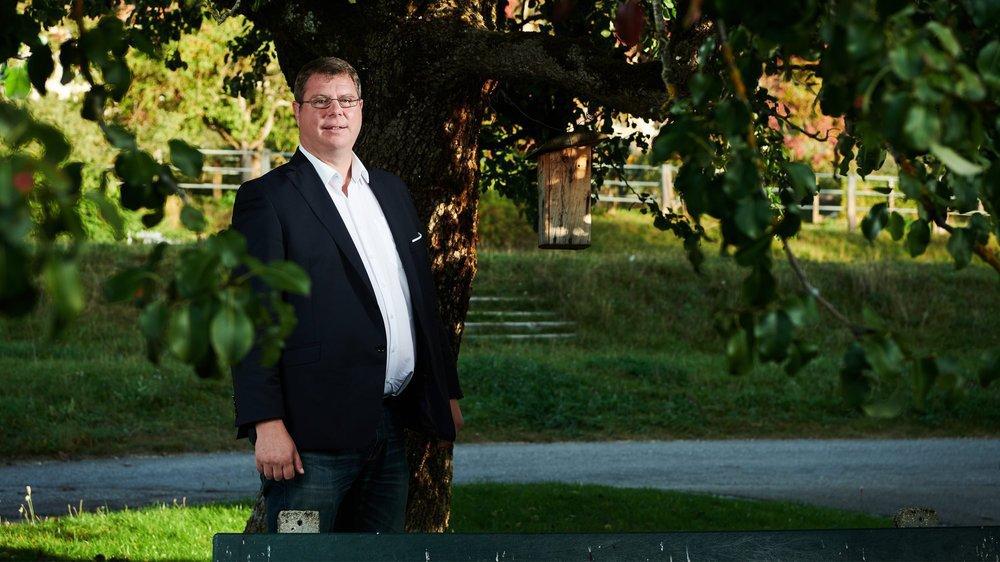 Le directeur de Neuchâtel vins et terroir parle de son accident sans tabou. Aujourd'hui, il a changé d'hygiène de vie.