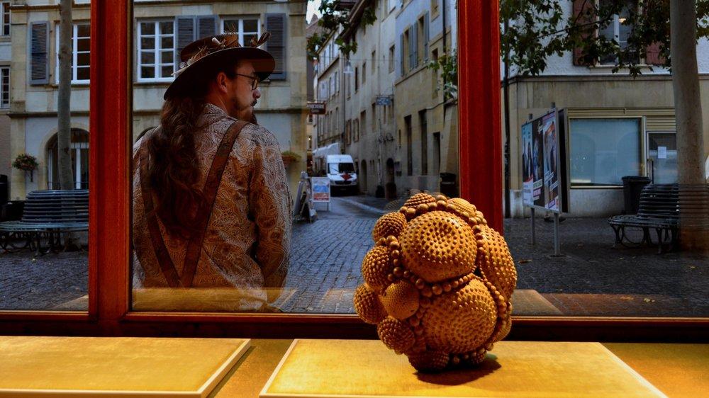 Une des œuvres à découvrir lors de la première édition d'Arty Show, à Neuchâtel, dès le 31 octobre.