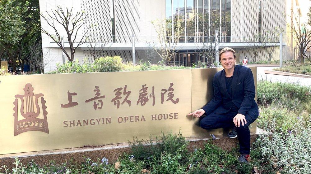 Bernard Richter participera à l'inauguration de la Shangyin Opera House à Shanghai vendredi.
