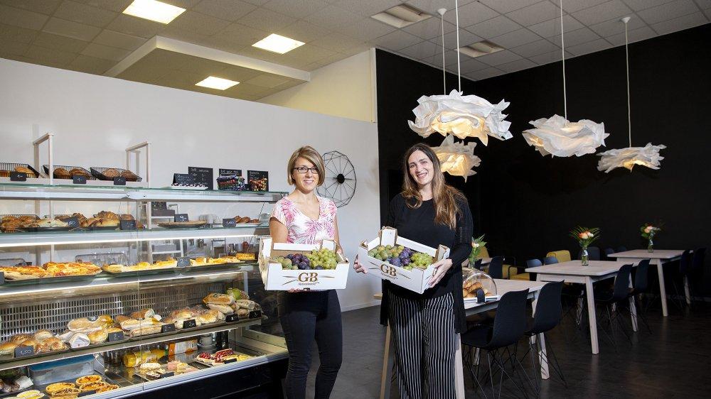 """Yolande Liechti et Jeanie Santana Souza serviront des """"produits frais de la veille"""" à leurs clients."""