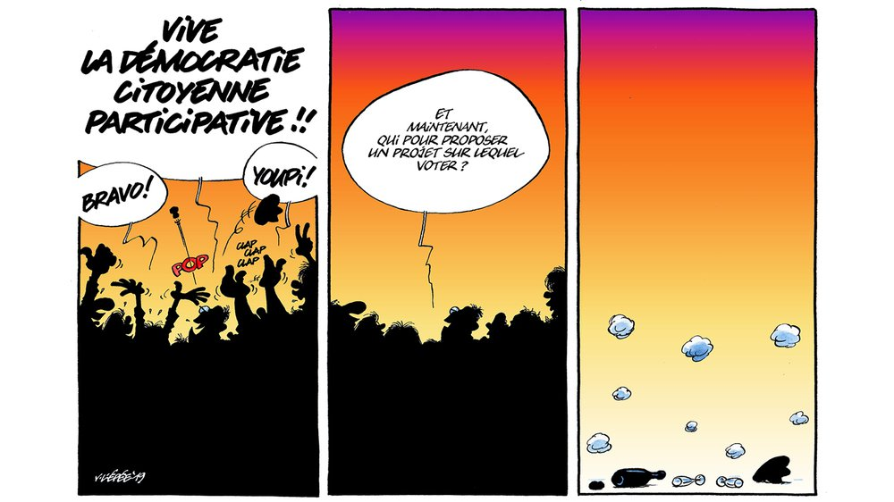 Démocratie participative: et si nous faisions comme Lausanne?