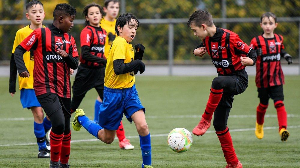 Des objectifs seront fixés pour les juniors (ici les DII, en rouge et noir).