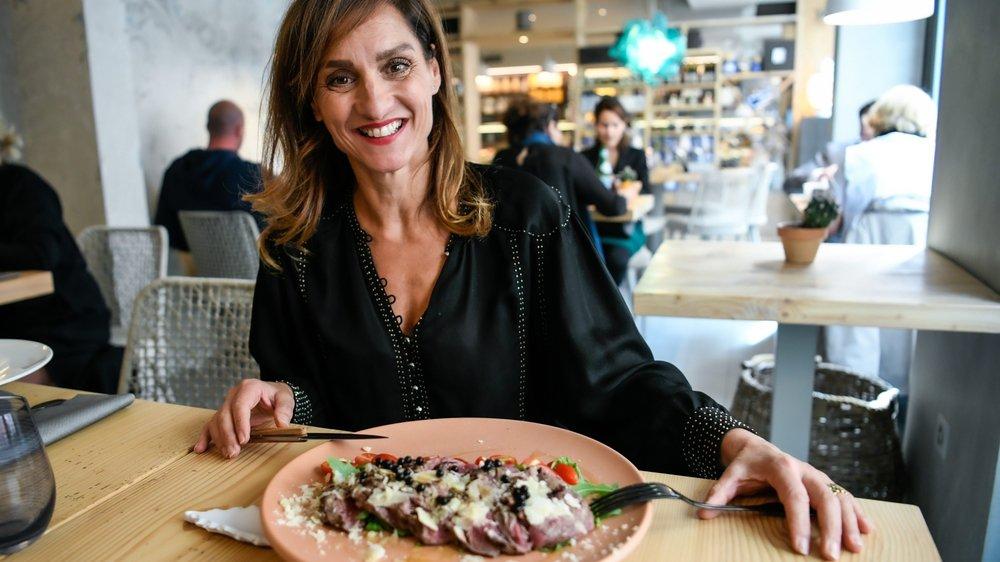 Ada Pisino a choisi le filet de bœuf cuit à basse température.