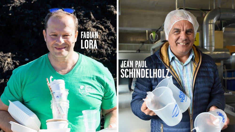 Une entreprise de Saint-Blaise et une autre d'Yverdon proposent des alternatives à la vaisselle en plastique jetable.