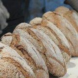 Fabrication du pain au four banal