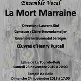 """La musique de Purcell illustre """"La Mort Marraine"""""""