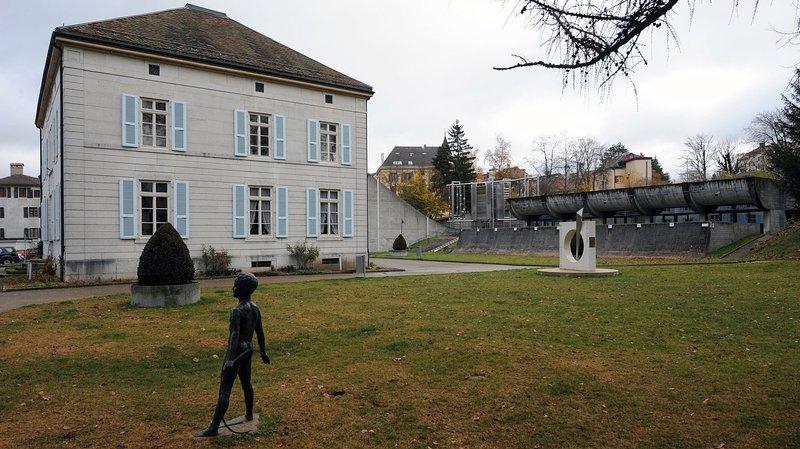 Le parc des Musées de La Chaux-de-Fonds. Archives: Christian Galley