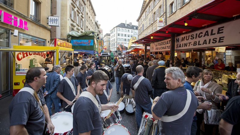 L'année dernière, le premier prix est allé au stand de l'Association musicale Neuchâtel – Saint-Blaise.