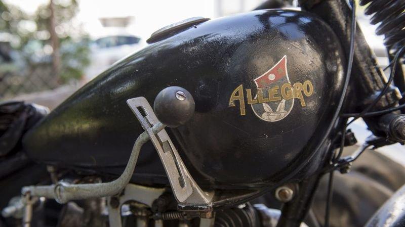 La société Allegro a produit des motos et des vélos. Son fondateur Arnold Grandjean était lui-même pilote de moto.