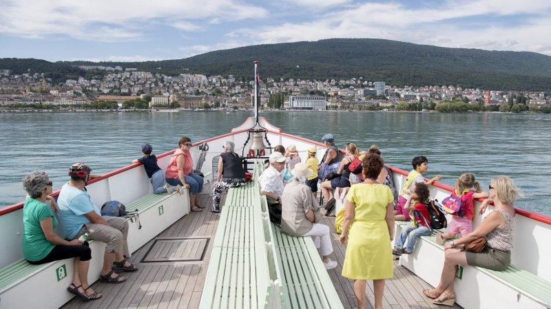 Un don de 3000 francs pour l'association Navigation à vapeur sur les lacs jurassiens