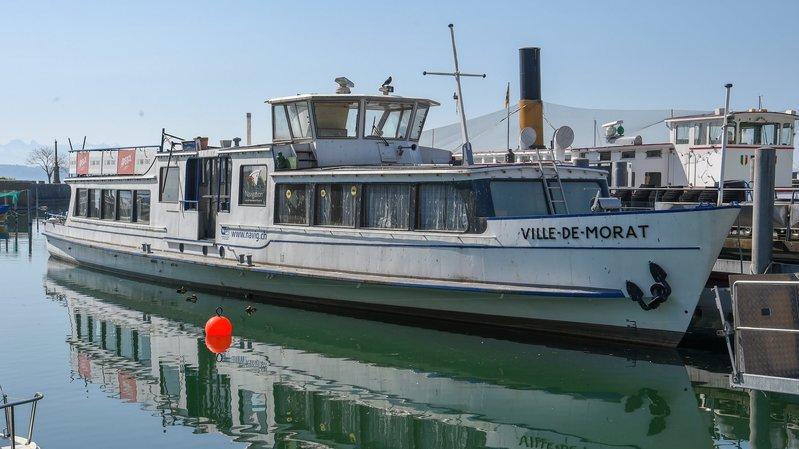 Le «Ville de Morat» devrait remplacer le Vieux Vapeur comme restaurant au port de Neuchâtel