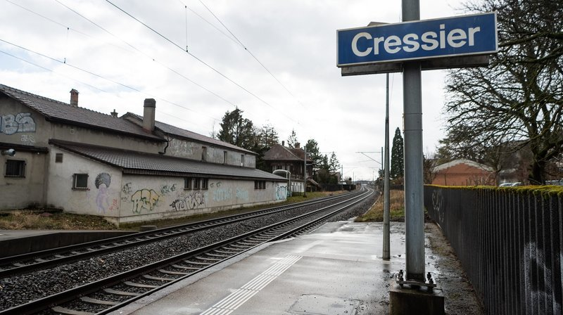 Ligne CFF coupée entre Neuchâtel et Bienne