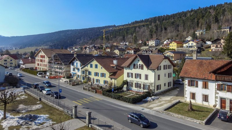 Près de 1650 habitants supplémentaires, c'est comme si un second village comme Dombresson avait poussé dans la commune Val-de-Ruz.