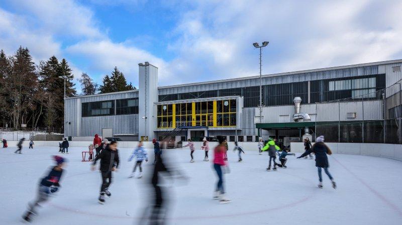 La patinoire des Mélèzes rouvre ce lundi.