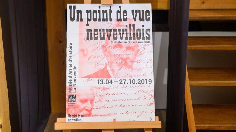 A La Neuveville, une exposition est consacrée à Carl Spitteler, prix Nobel de littérature 1919.