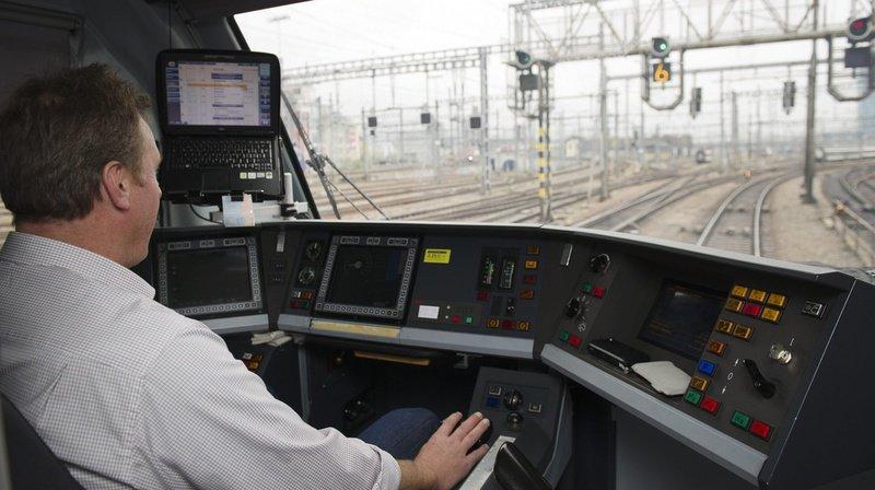 Des conducteurs de trains des CFF et du BLS travaillent jusqu'à 14 jours de suite