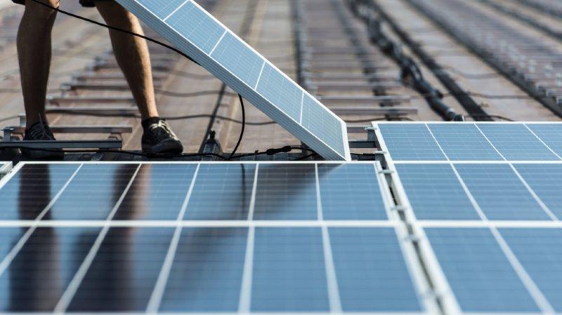 Début 2019, 15'500 petites installations photovoltaïques figuraient sur la liste d'attente pour toucher une rétribution unique. (illustration)