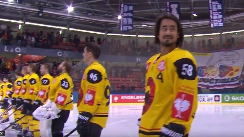 La patinoire de Grenoble joue l'hymne suédois… pour une équipe suisse — Hockey