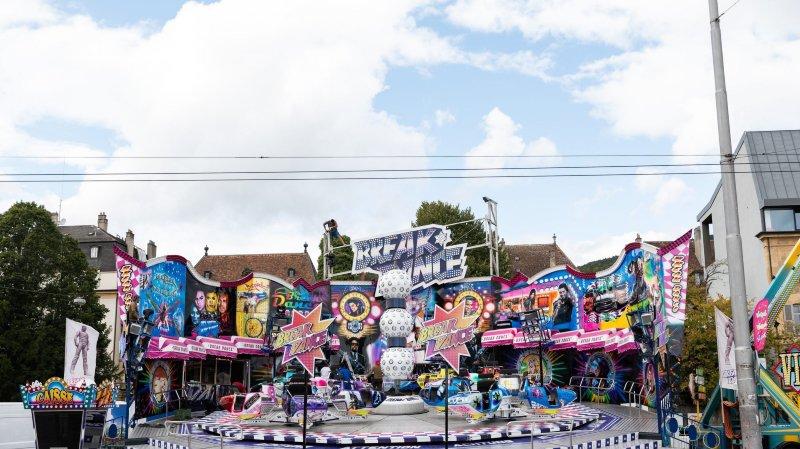 Horaires élargis le samedi pour les carrousels de la Fête des vendanges