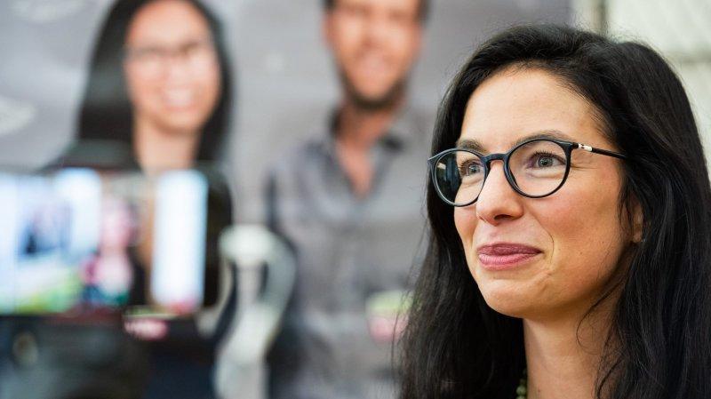 La Neuchâteloise Céline Vara, première conseillère aux États romande enceinte de l'histoire suisse