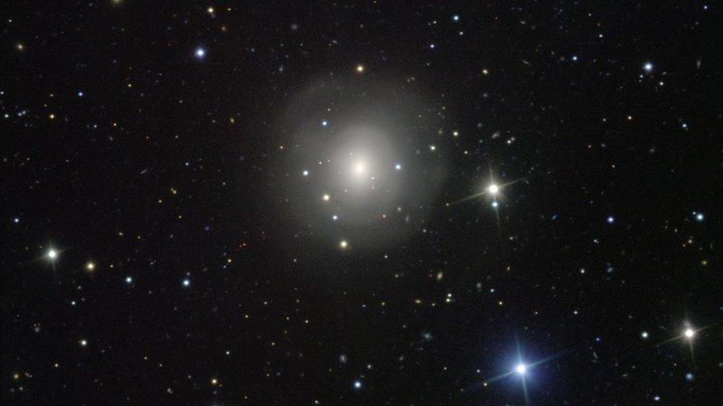 Himiko est l'une des douze galaxies découvertes par les astronomes japonais. (Illustration)