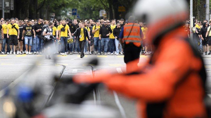Berne: postes de police fermés pour disposer du maximum d'agents lors du match de Young Boys
