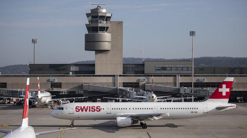 L'appareil, un Airbus A321 de ce type, a dû faire demi-tour peu après son décollage de Zurich.