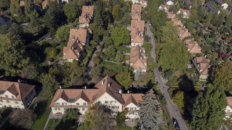 Dans de nombreuses villes, comme ici à Zurich, les prix de l'immobilier résidentiel se sont découplés des revenus.