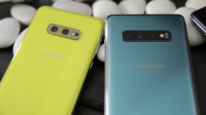 Les smartphones Galaxy Note10, 10+ et Galaxy S10, S10+ et S10 5G sont concernés par la faille de sécurité. (Illustration)